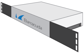 Barracuda L-shape Rack Mount bracket